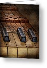 Play Me An Old Hymn Greeting Card