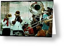 Play That Trumpet Greeting Card