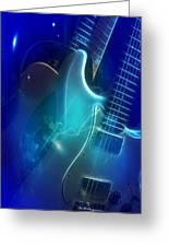 Play Them Blues Greeting Card