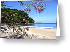Playa Espadillia Sur Manuel Antonio National Park Costa Rica Greeting Card