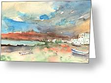 Playa Honda In Lanzarote 01 Greeting Card