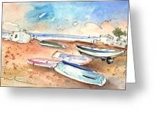 Playa Honda In Lanzarote 03 Greeting Card