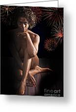 Chynna African American Nude Girl In Sexy Sensual Photograph And In Color 4774.02 Greeting Card