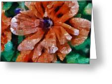 Playful Poppies 1 Greeting Card