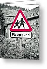 Playground Greeting Card