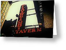 Playwright Tavern Greeting Card