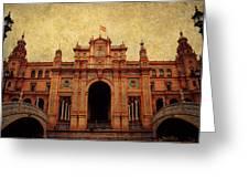 Plaza De Espana 1. Seville Greeting Card