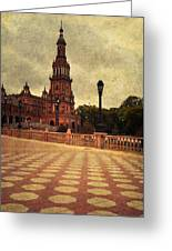 Plaza De Espana 8. Seville Greeting Card