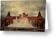 Plaza De Espana. Seville Greeting Card
