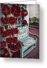 Plaza Gifts Bench Greeting Card