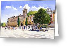 Plaza Nueva Greeting Card