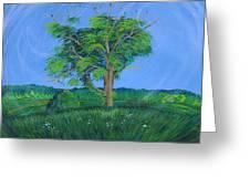Pleasant Township Tree Greeting Card