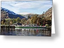 Pleasure Cruiser On Ullswater Greeting Card