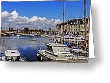 Pleasure Of Boating Greeting Card