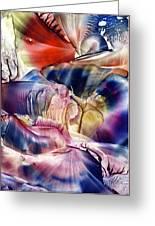 Pleiades Above Greeting Card