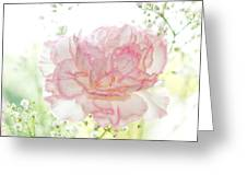 Plenty Of Joy And Sun. Natural Watercolor. Touch Of Japanese Style Greeting Card