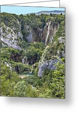Plitvice Lakes - Croatia Greeting Card