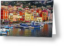 Plongee At Villefranche Greeting Card