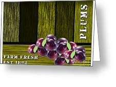 Plum Farm Greeting Card