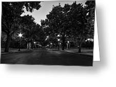 Plum Street To Franklin Square Greeting Card