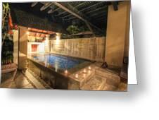 Plunge Pool At The Indigo Pearl Phuket Greeting Card