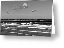 Plymouth Cliffs II Greeting Card