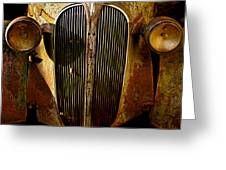 Plymouth Grill Greeting Card