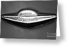 Plymouth Trunk Emblem Greeting Card