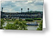 Pnc Park Pittsburgh Pirates Greeting Card by Angelo Rolt