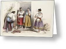 Poblanas Greeting Card