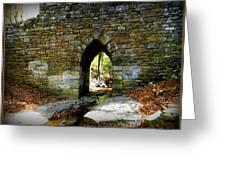 Poinsett Bridge Arch Greeting Card