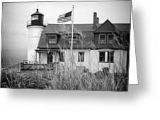 Point Betsie Lighthouse II Greeting Card