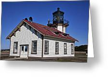 Point Cabrillo Light Station Greeting Card