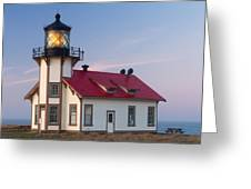 Point Cabrillo Lighthouse Greeting Card