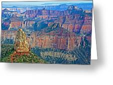 Point Imperial At 8803 Feet On North Rim Of Grand Canyon National Park-arizona   Greeting Card