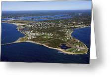 Point Judith, Rhode Island Greeting Card