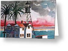 Point Loma California Greeting Card