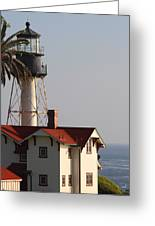 Point Loma California Lighthouse Greeting Card