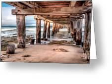 Point Lonsdale Jetty Greeting Card by Shannon Rogers