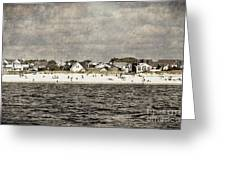 Point Lookout Beach  Vintage Greeting Card
