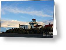 Point No Point Lighthouse Greeting Card