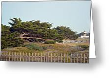Point Pinos Lighthouse Pacific Grove California Greeting Card
