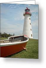 Point Prim Lighthouse Greeting Card