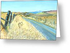 Point Reyes Country Road Greeting Card