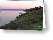 Point Reyes Sunset Greeting Card
