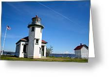 Point Robinson Lighthouse Greeting Card