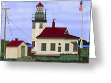 Point Robinson With Shoreline Detail 2013 Greeting Card