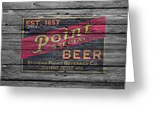 Point Special Beer Greeting Card