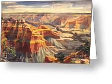 Point Sublime - Grand Canyon Az. Greeting Card