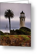 Point Vincente Lighthouse Greeting Card